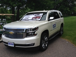 2015 Chevy Tahoe LTZ on Hole #6