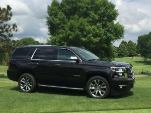 Chevrolet Tahoe LTZ as the Hole in One Prize on Hole #17